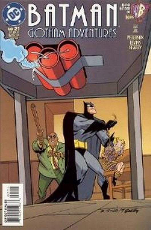 Cover of Batman: Gotham Adventures (Vol 1) #21. One of 250,000 Vintage American Comics on sale from Krypton!