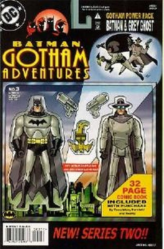 Cover of Batman: Gotham Adventures (Vol 1) #3. One of 250,000 Vintage American Comics on sale from Krypton!
