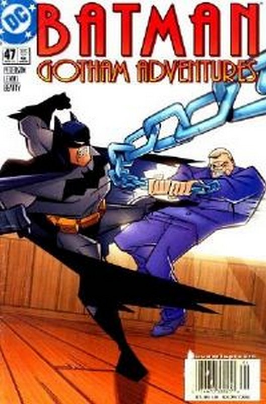 Cover of Batman: Gotham Adventures (Vol 1) #47. One of 250,000 Vintage American Comics on sale from Krypton!