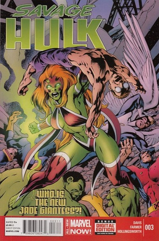 Cover of Savage Hulk (Vol 1) #3. One of 250,000 Vintage American Comics on sale from Krypton!