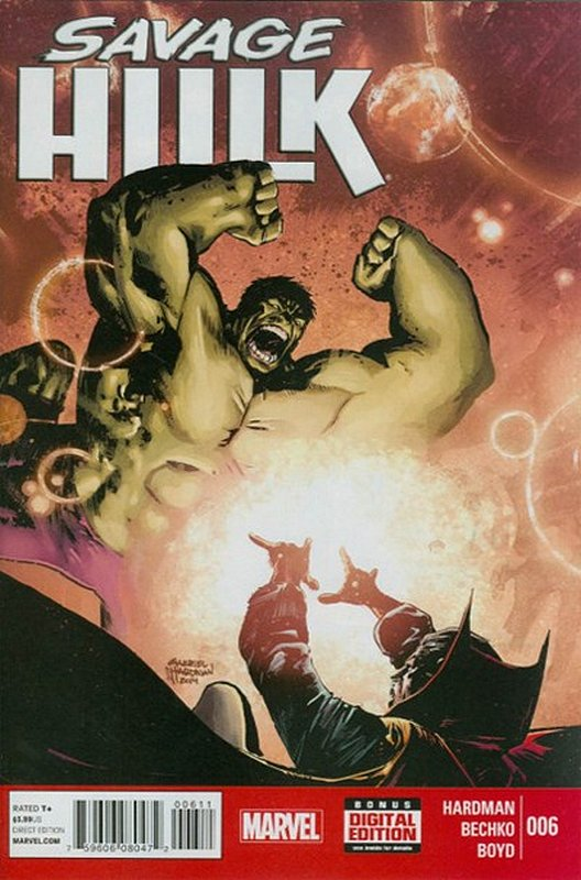 Cover of Savage Hulk (Vol 1) #6. One of 250,000 Vintage American Comics on sale from Krypton!