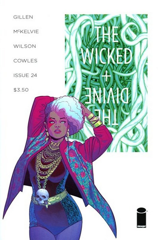 Cover of Wicked & Divine (Vol 1) #24. One of 250,000 Vintage American Comics on sale from Krypton!