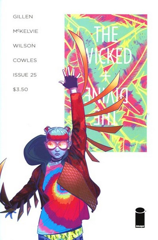 Cover of Wicked & Divine (Vol 1) #25. One of 250,000 Vintage American Comics on sale from Krypton!