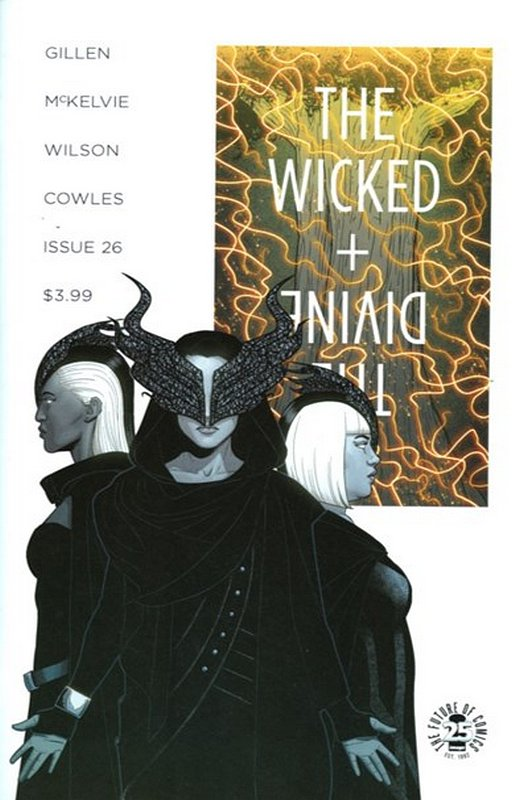 Cover of Wicked & Divine (Vol 1) #26. One of 250,000 Vintage American Comics on sale from Krypton!
