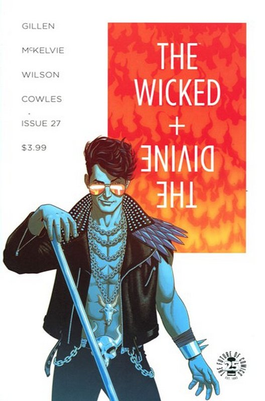 Cover of Wicked & Divine (Vol 1) #27. One of 250,000 Vintage American Comics on sale from Krypton!