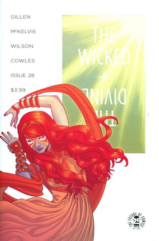 Cover of Wicked & Divine (Vol 1) #28. One of 250,000 Vintage American Comics on sale from Krypton!