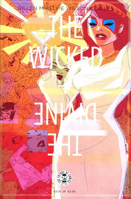 Cover of Wicked & Divine (Vol 1) #29. One of 250,000 Vintage American Comics on sale from Krypton!