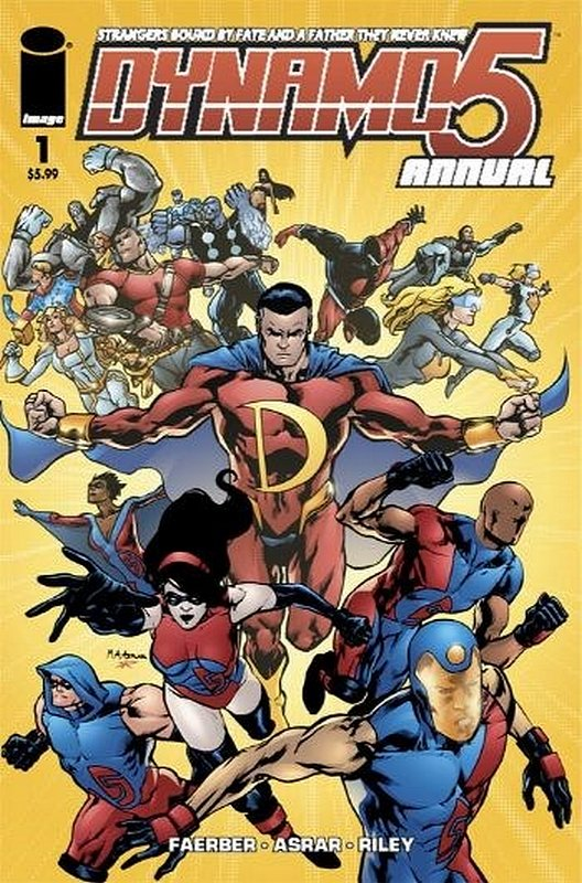 Cover of Dynamo 5 Annual (2008 One Shot) #1. One of 250,000 Vintage American Comics on sale from Krypton!