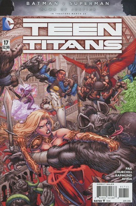 Cover of Teen Titans (Vol 5) #17. One of 250,000 Vintage American Comics on sale from Krypton!