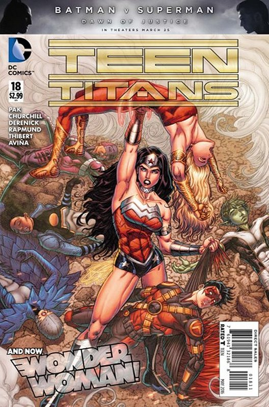 Cover of Teen Titans (Vol 5) #18. One of 250,000 Vintage American Comics on sale from Krypton!
