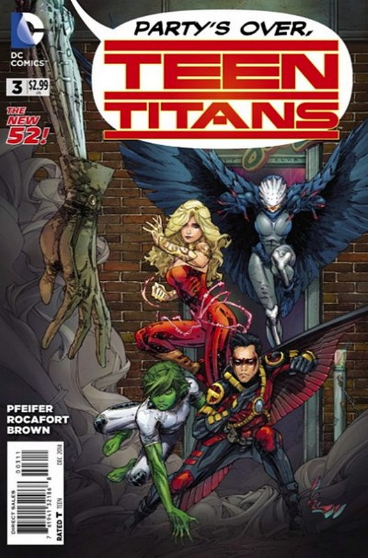 Cover of Teen Titans (Vol 5) #3. One of 250,000 Vintage American Comics on sale from Krypton!