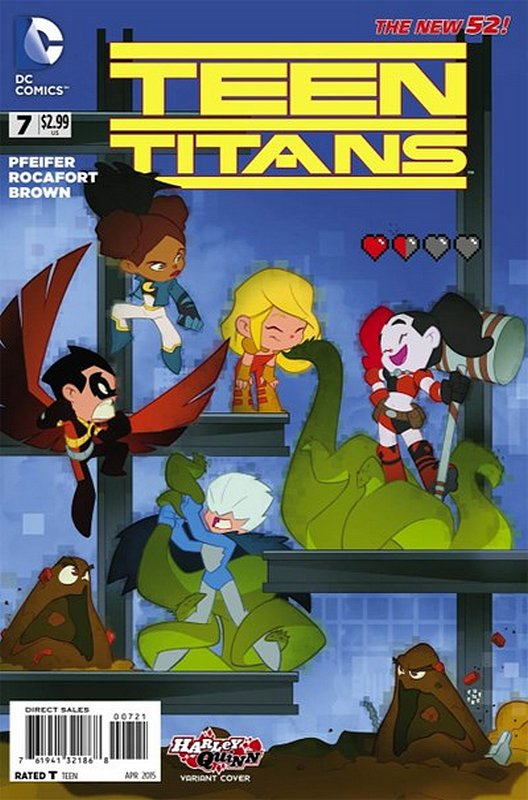 Cover of Teen Titans (Vol 5) #7. One of 250,000 Vintage American Comics on sale from Krypton!
