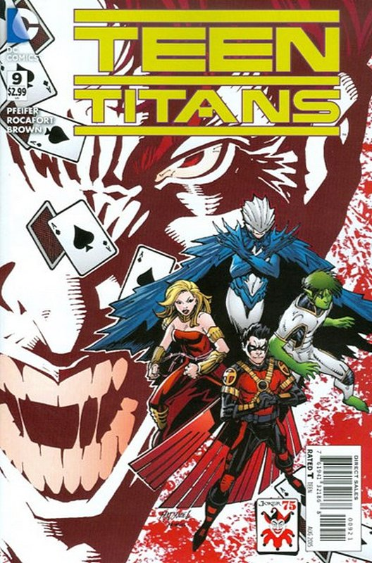 Cover of Teen Titans (Vol 5) #9. One of 250,000 Vintage American Comics on sale from Krypton!