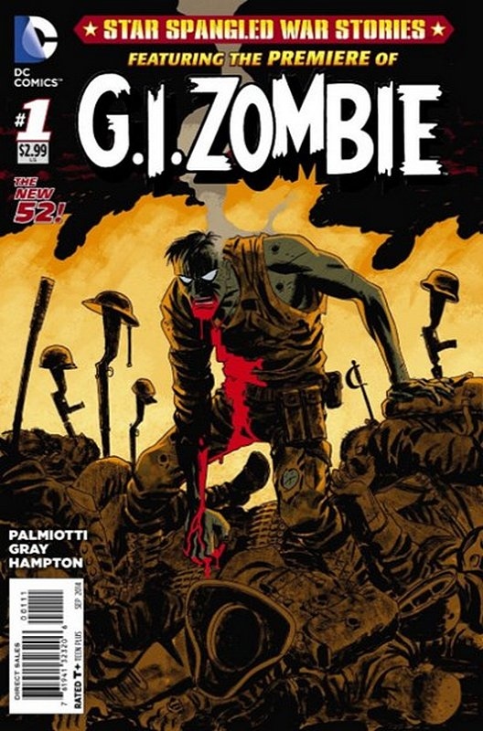 Cover of Star Spangled War Stories: GI Zombie (Vol 1) #1. One of 250,000 Vintage American Comics on sale from Krypton!