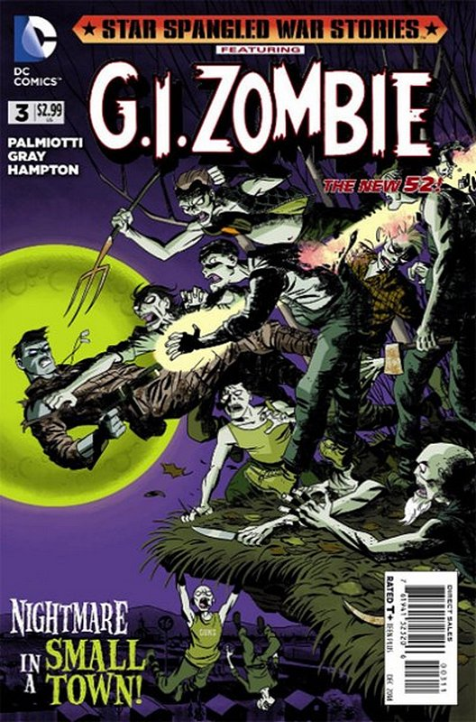 Cover of Star Spangled War Stories: GI Zombie (Vol 1) #3. One of 250,000 Vintage American Comics on sale from Krypton!