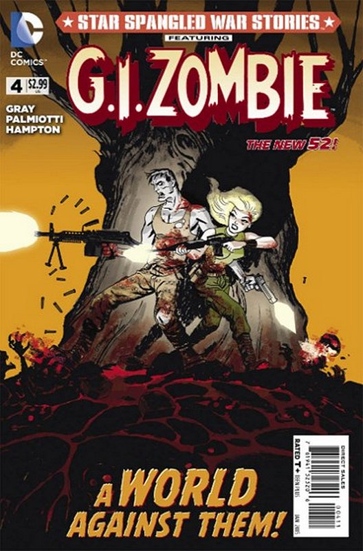 Cover of Star Spangled War Stories: GI Zombie (Vol 1) #4. One of 250,000 Vintage American Comics on sale from Krypton!