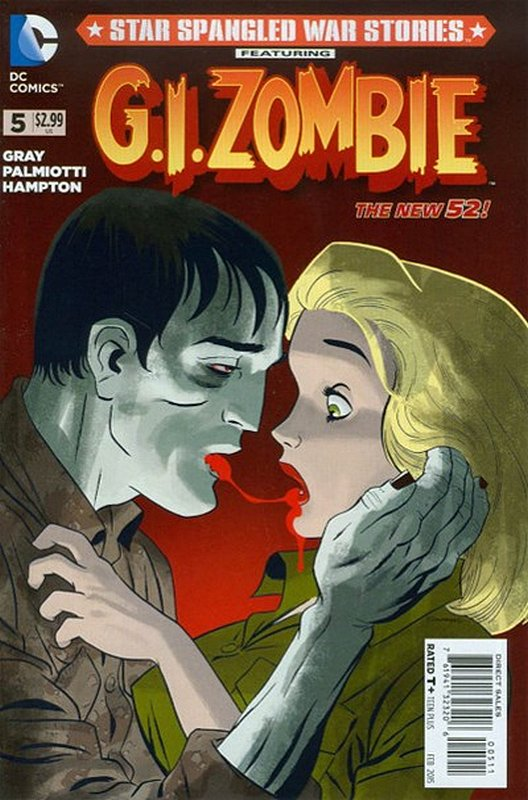 Cover of Star Spangled War Stories: GI Zombie (Vol 1) #5. One of 250,000 Vintage American Comics on sale from Krypton!