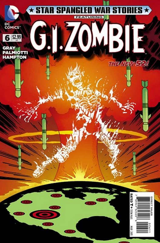 Cover of Star Spangled War Stories: GI Zombie (Vol 1) #6. One of 250,000 Vintage American Comics on sale from Krypton!