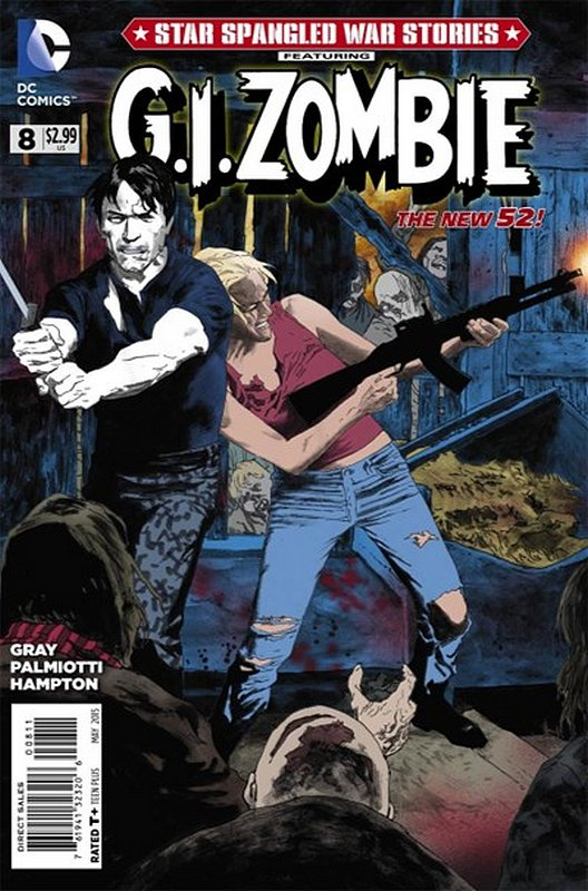 Cover of Star Spangled War Stories: GI Zombie (Vol 1) #8. One of 250,000 Vintage American Comics on sale from Krypton!