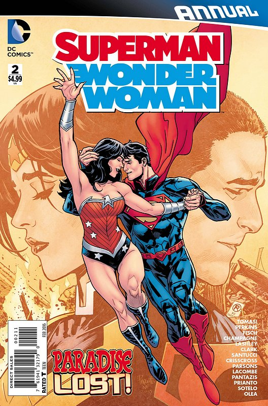 Cover of Superman/Wonder Woman Annual #2. One of 250,000 Vintage American Comics on sale from Krypton!