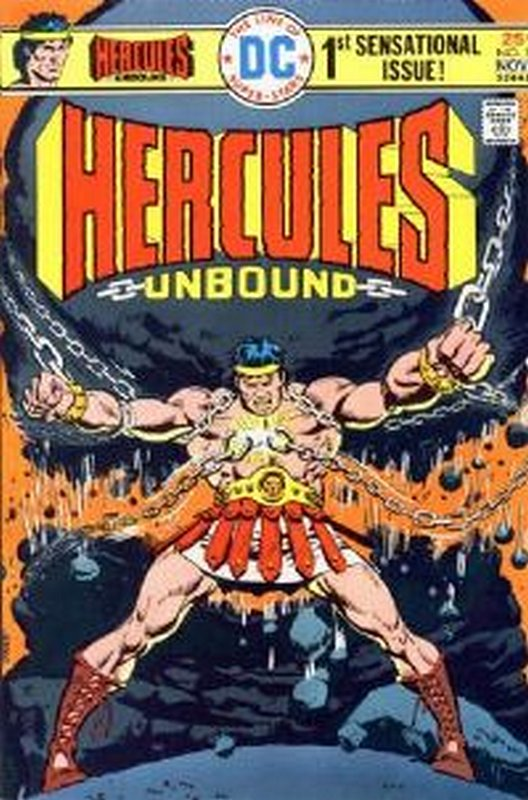 Cover of Hercules Unbound (Vol 1) #1. One of 250,000 Vintage American Comics on sale from Krypton!