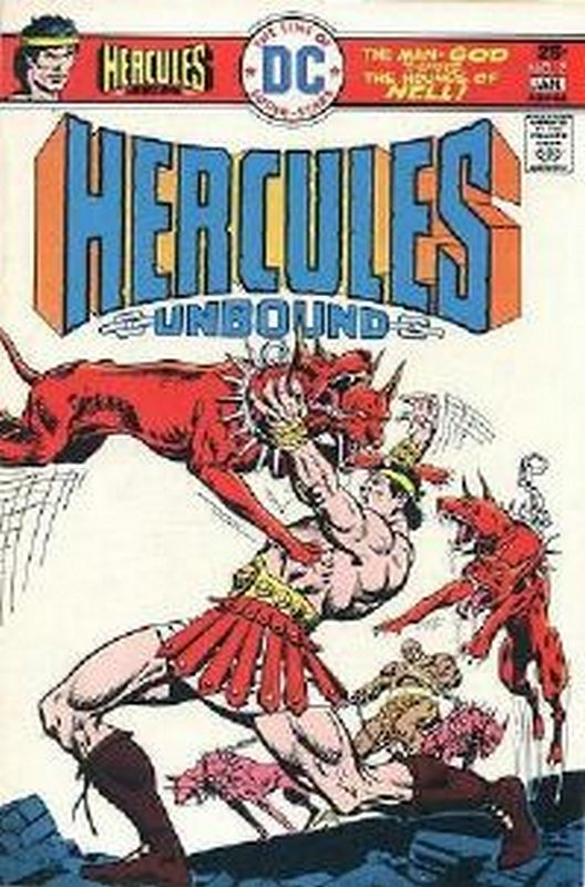 Cover of Hercules Unbound (Vol 1) #2. One of 250,000 Vintage American Comics on sale from Krypton!