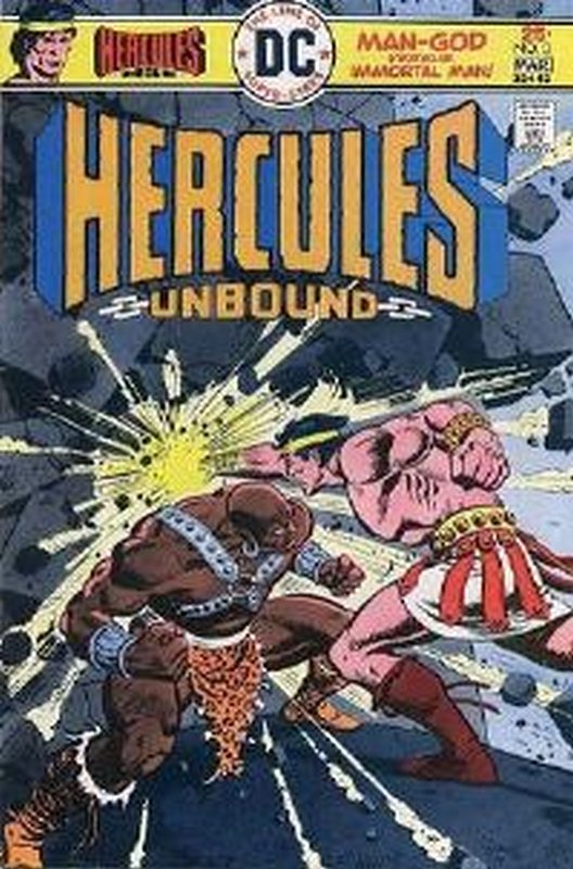 Cover of Hercules Unbound (Vol 1) #3. One of 250,000 Vintage American Comics on sale from Krypton!