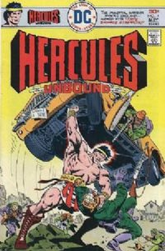 Cover of Hercules Unbound (Vol 1) #4. One of 250,000 Vintage American Comics on sale from Krypton!