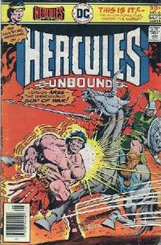 Cover of Hercules Unbound (Vol 1) #6. One of 250,000 Vintage American Comics on sale from Krypton!