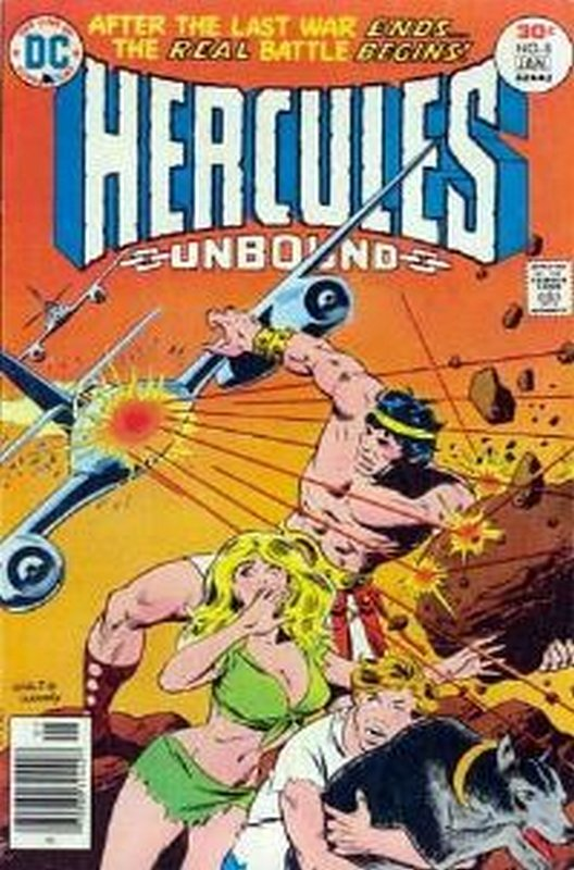 Cover of Hercules Unbound (Vol 1) #8. One of 250,000 Vintage American Comics on sale from Krypton!