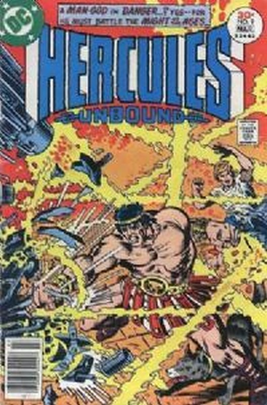 Cover of Hercules Unbound (Vol 1) #9. One of 250,000 Vintage American Comics on sale from Krypton!