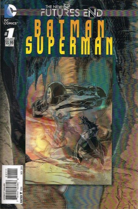 Cover of Batman/Superman: Futures End (2014 One Shot) #1. One of 250,000 Vintage American Comics on sale from Krypton!