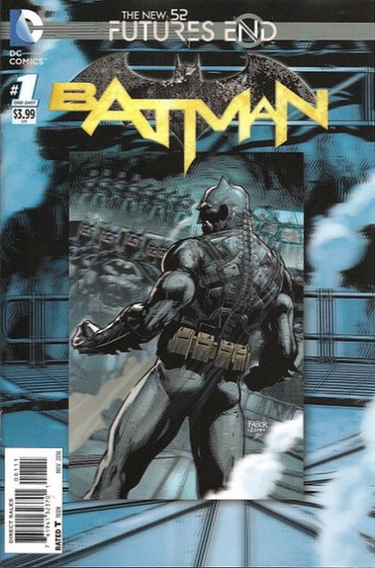 Cover of Batman: Futures End (2014 One Shot) #1. One of 250,000 Vintage American Comics on sale from Krypton!
