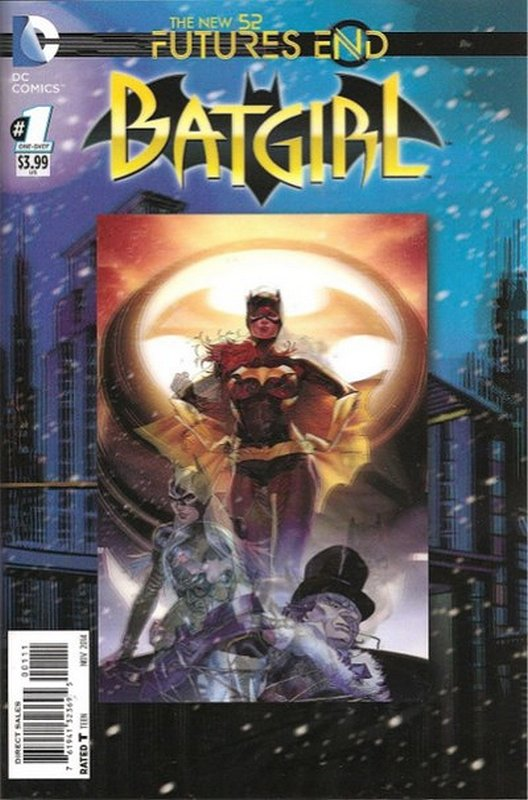 Cover of Batgirl: Futures End (2014 One Shot) #1. One of 250,000 Vintage American Comics on sale from Krypton!