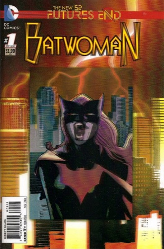 Cover of Batwoman: Futures End (2014 One Shot) #1. One of 250,000 Vintage American Comics on sale from Krypton!