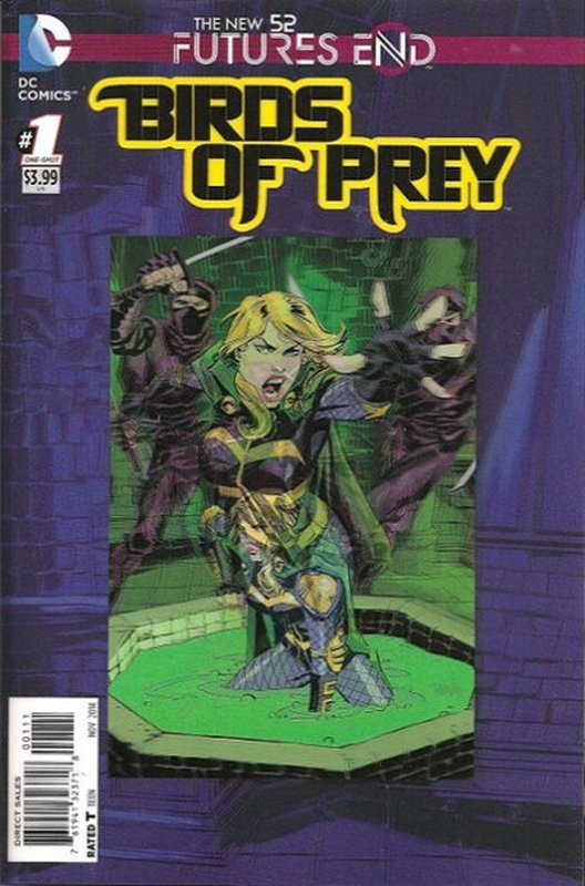 Cover of Birds of Prey: Futures End (2014 One Shot) #1. One of 250,000 Vintage American Comics on sale from Krypton!