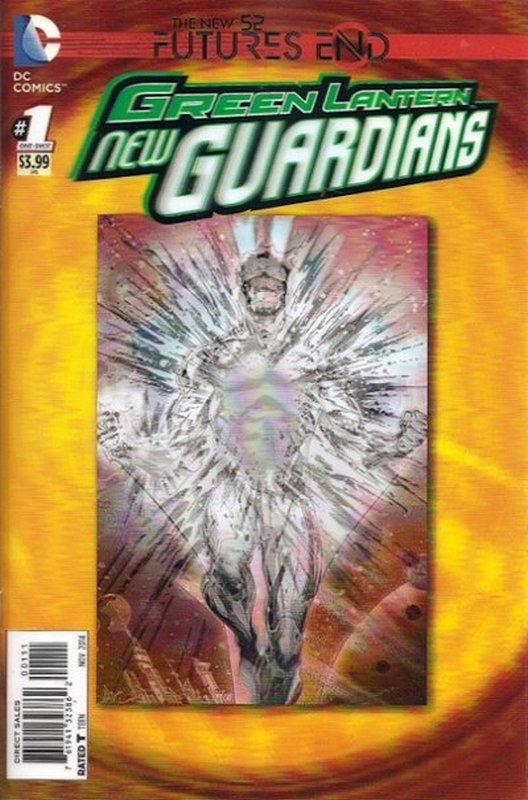 Cover of Green Lantern New Guardians: Futures End (OneShot) #1. One of 250,000 Vintage American Comics on sale from Krypton!