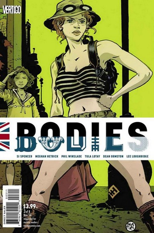 Cover of Bodies (2014 Ltd) #3. One of 250,000 Vintage American Comics on sale from Krypton!