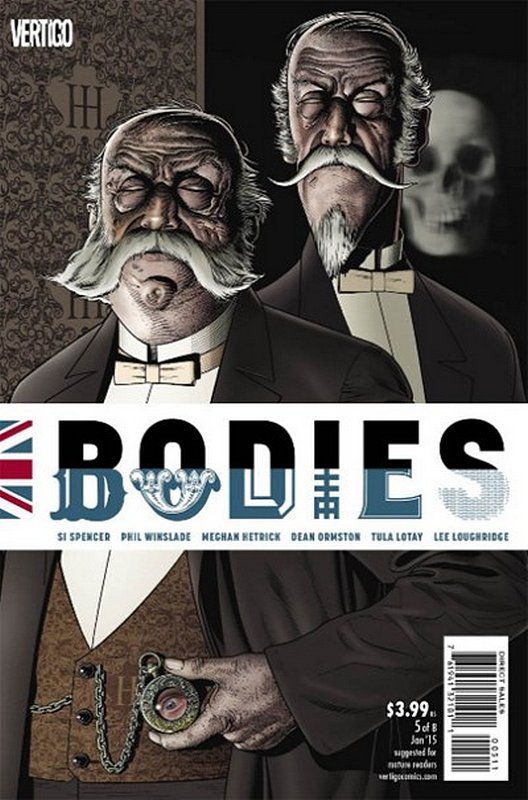Cover of Bodies (2014 Ltd) #5. One of 250,000 Vintage American Comics on sale from Krypton!