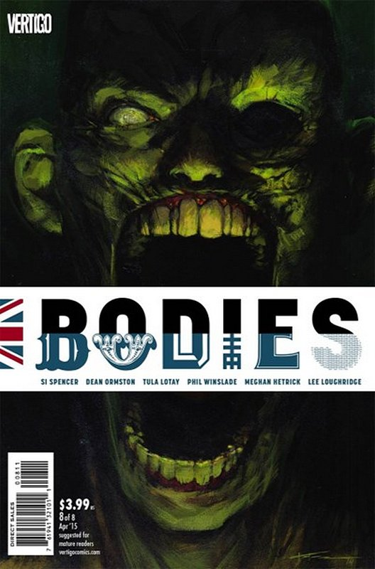 Cover of Bodies (2014 Ltd) #8. One of 250,000 Vintage American Comics on sale from Krypton!