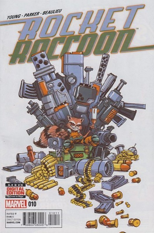 Cover of Rocket Raccoon (Vol 1) #10. One of 250,000 Vintage American Comics on sale from Krypton!