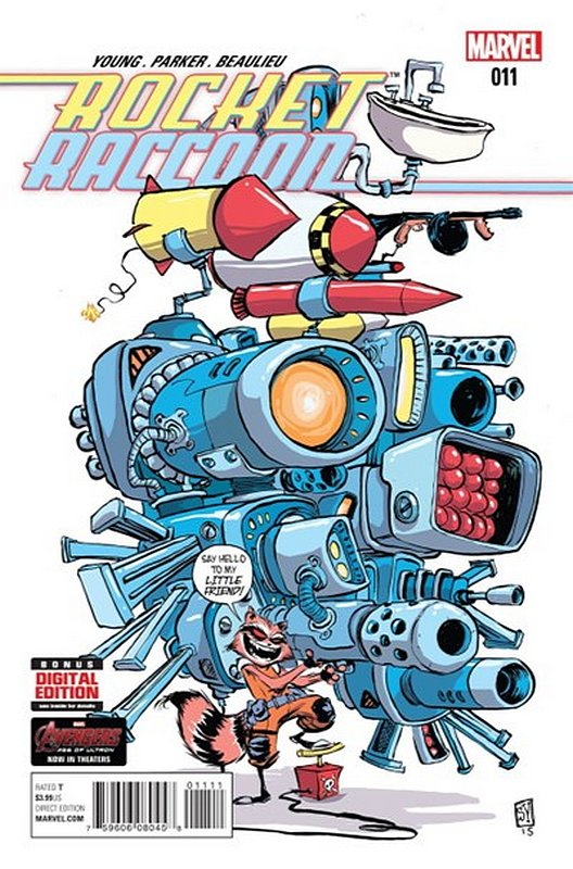 Cover of Rocket Raccoon (Vol 1) #11. One of 250,000 Vintage American Comics on sale from Krypton!