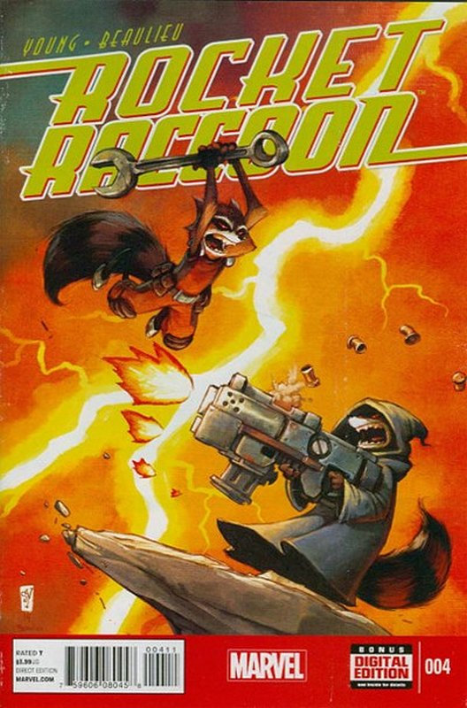 Cover of Rocket Raccoon (Vol 1) #4. One of 250,000 Vintage American Comics on sale from Krypton!