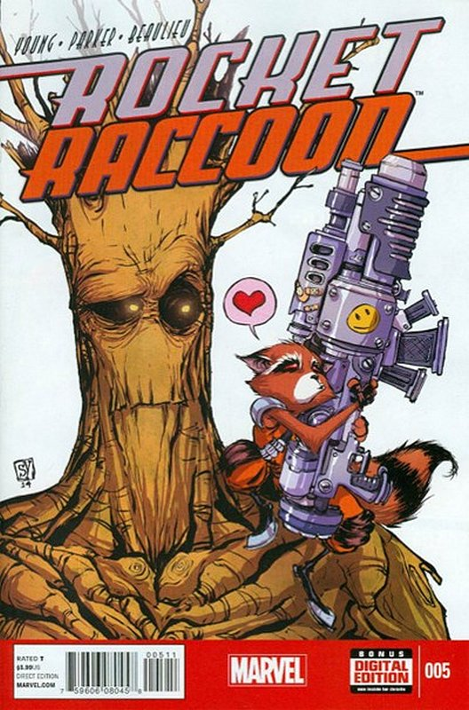 Cover of Rocket Raccoon (Vol 1) #5. One of 250,000 Vintage American Comics on sale from Krypton!