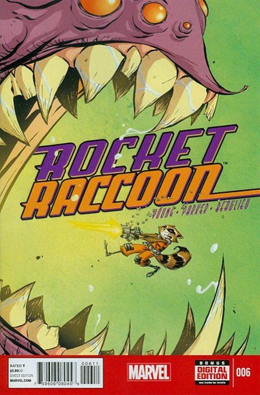 Cover of Rocket Raccoon (Vol 1) #6. One of 250,000 Vintage American Comics on sale from Krypton!