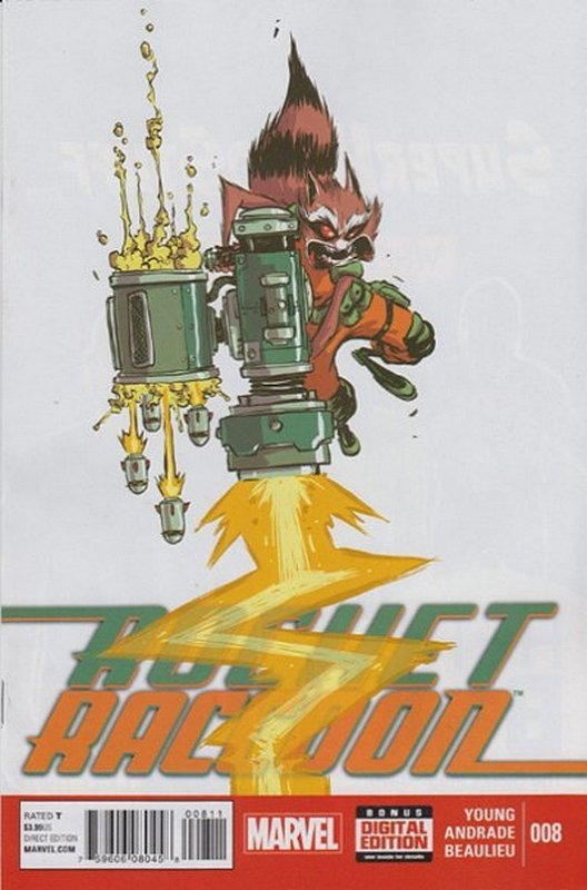 Cover of Rocket Raccoon (Vol 1) #8. One of 250,000 Vintage American Comics on sale from Krypton!