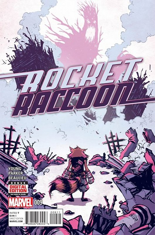 Cover of Rocket Raccoon (Vol 1) #9. One of 250,000 Vintage American Comics on sale from Krypton!