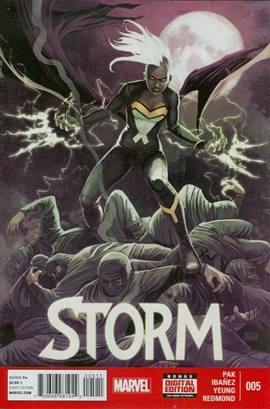 Cover of Storm (Vol 1) #5. One of 250,000 Vintage American Comics on sale from Krypton!