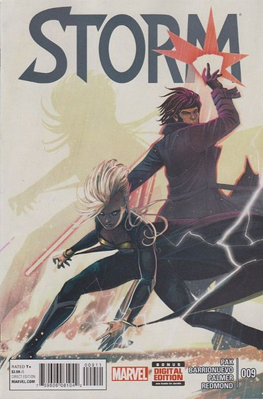 Cover of Storm (Vol 1) #9. One of 250,000 Vintage American Comics on sale from Krypton!
