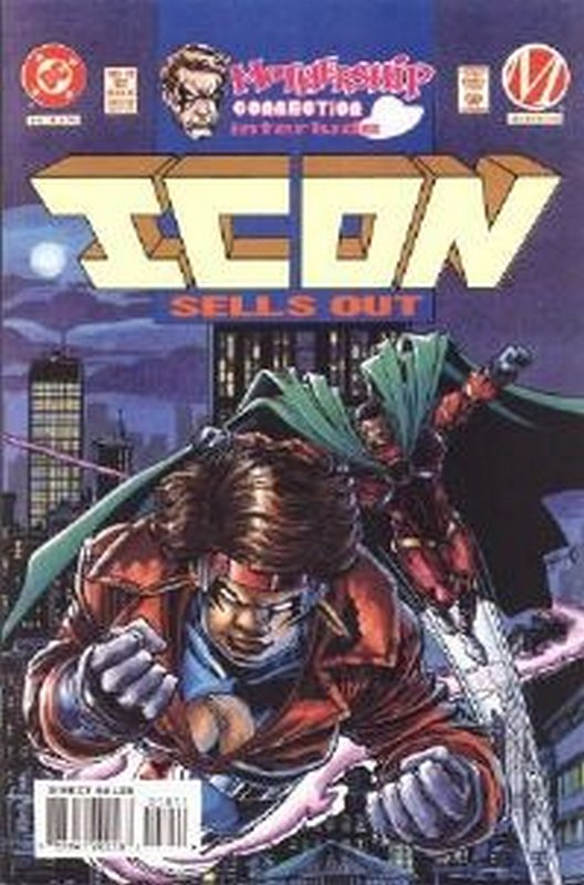 Cover of Icon (Vol 1) #18. One of 250,000 Vintage American Comics on sale from Krypton!
